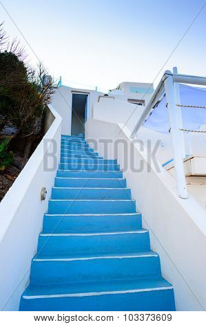Luxury hotel interior, Santorini island, Greece