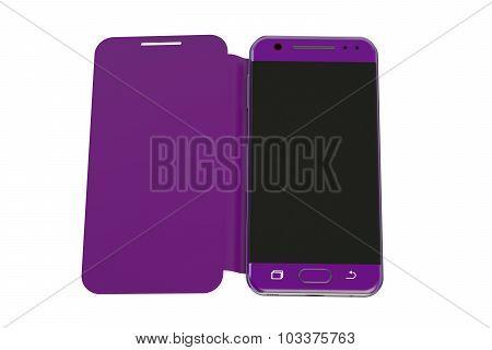 Smartphone With Flip Case