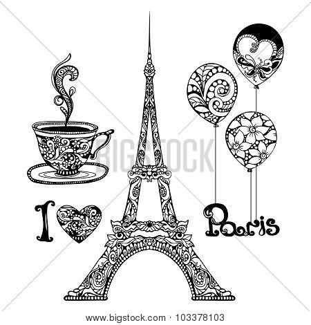Decorative Eiffel Tower