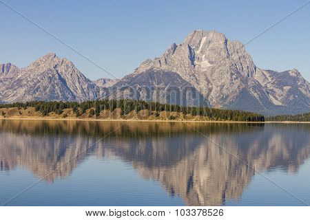 Jackson Lake in Grand Teton