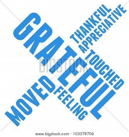 Grateful Word Cloud
