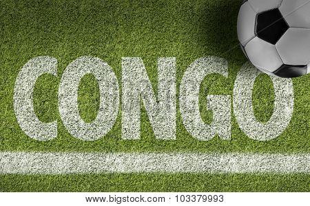 Congo Ball in a Soccer field