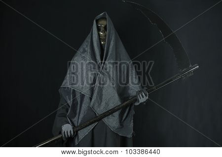 Halloween concept and background, Messenger of death in Halloween