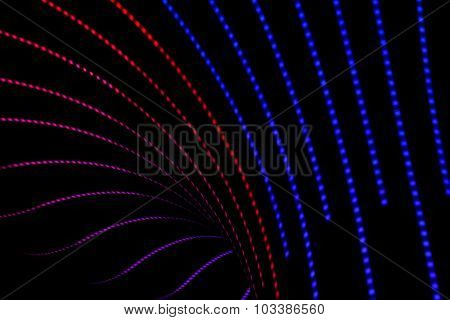 Neon abstract background