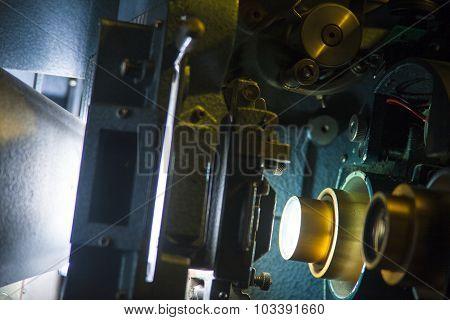 35mm Projector Lens & Gears