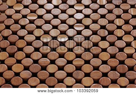 Wooden Pattern Dots