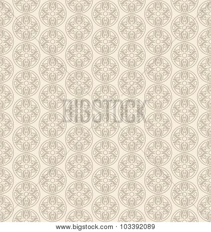 Seamless Pattern in Oriental Style. Ornamental background