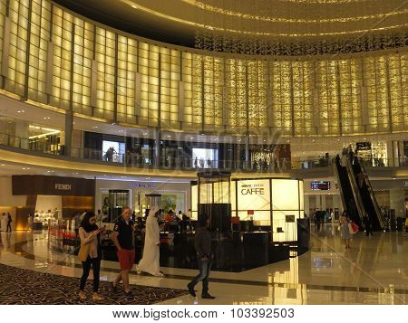 Fashion Avenue at Dubai Mall in the UAE