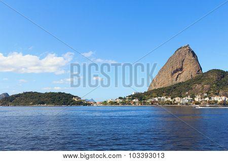 Mountain Sugarloaf From Botafogo, Rio De Janeiro, Brazil