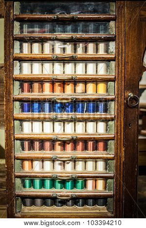 Old Thread Cabinet
