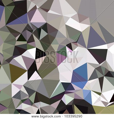 Davy Grey Abstract Low Polygon Background