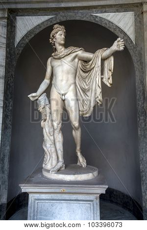 Apollo Del Belvedere In The Vatican Museums