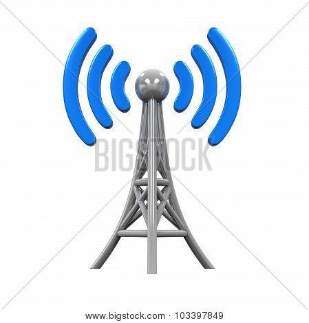 Metal Antenna Symbol