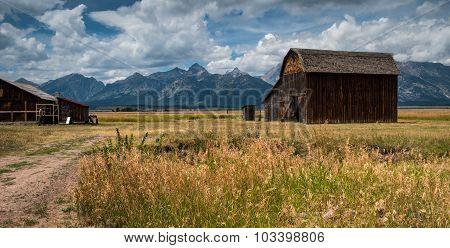 Old Barn at Grand Teton National Park
