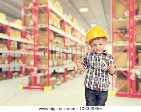 cute child act like handyman warehouse