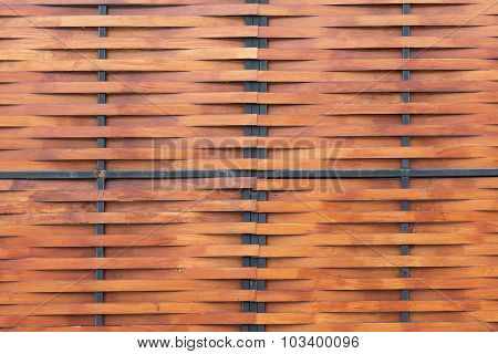 Brown Wood Wall Plank Background