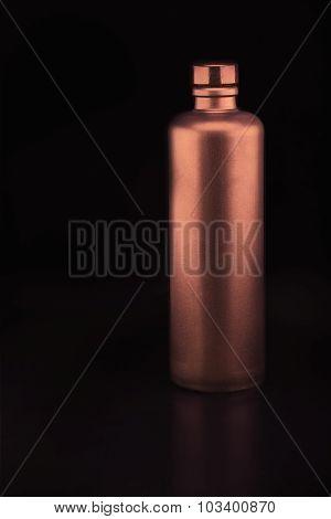 Bronze Colored Ceramic Bottle