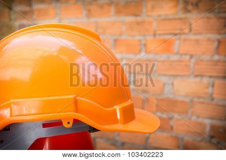 Construction Helmet Safety For Protect Worker From Accident In Construction Site