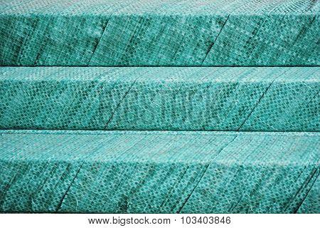 Green Plastic Wrap