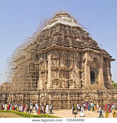 Close To Konark Sun Temple