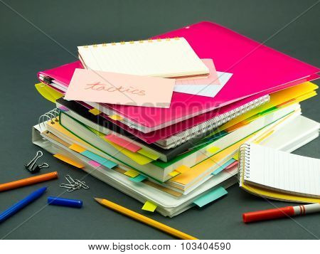 The Pile Of Business Documents; Tactics