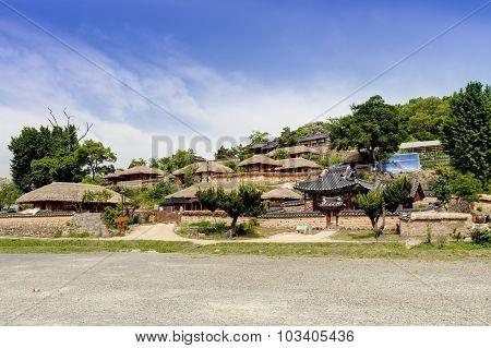 ancient village in Korea