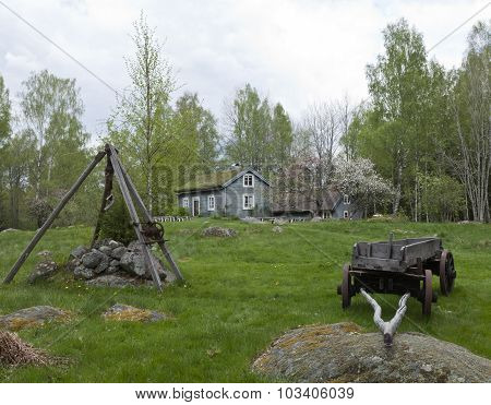 KLASATORPET, SWEDEN ON MAY 15.