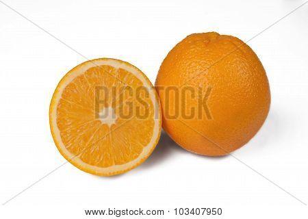 Orange And Half Orange