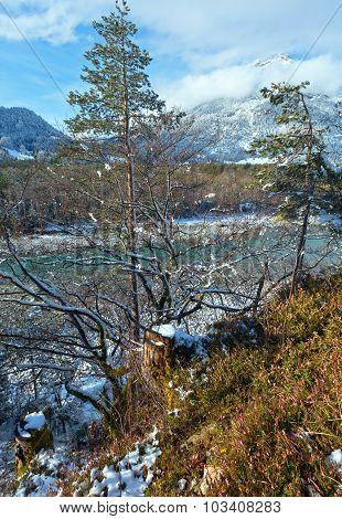 Winter Mountain River (austria,tirol).