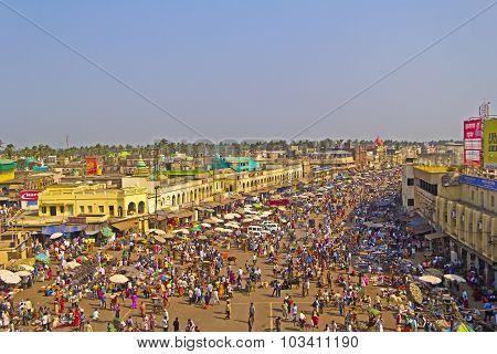 Jagannath Temple Square In Puri