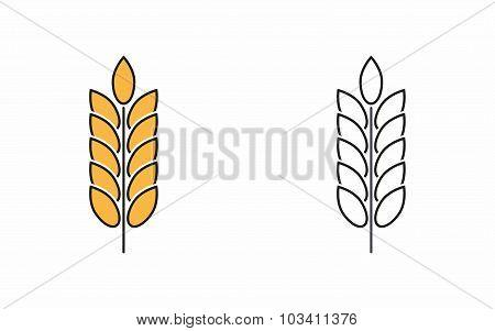 Barley Icon.
