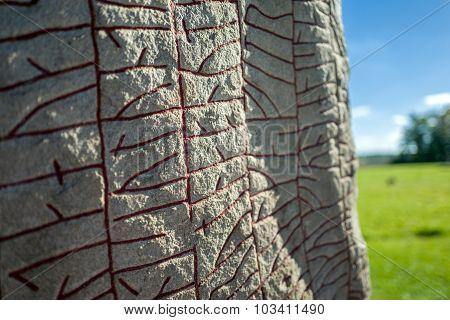 Written in stone by Vikings