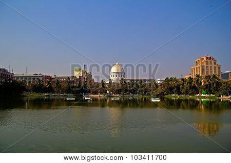 Lal Digh Lake In Calcutta