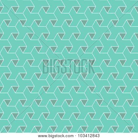 Geometric Seamless Pattern Background.