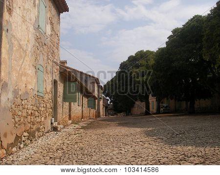 Prison on Saint Margarita's island