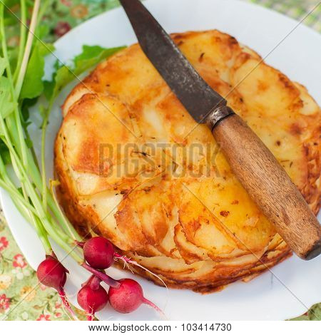 Layered Potato Bake