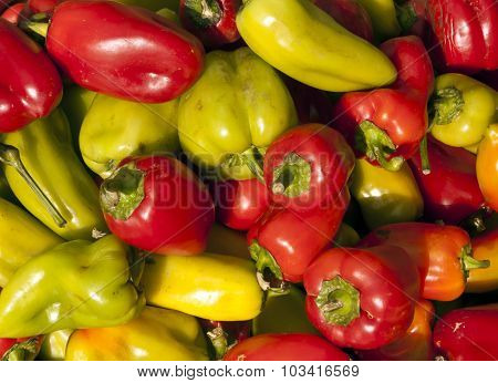 Color Bell Peppers.