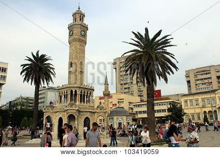 Izmir clock tower, Turkey