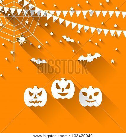 Halloween Paper Background