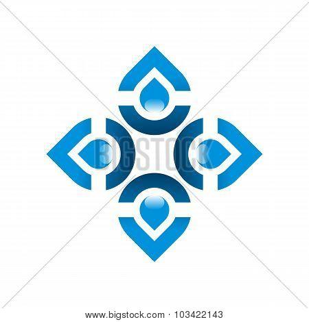 Logo puere water drop