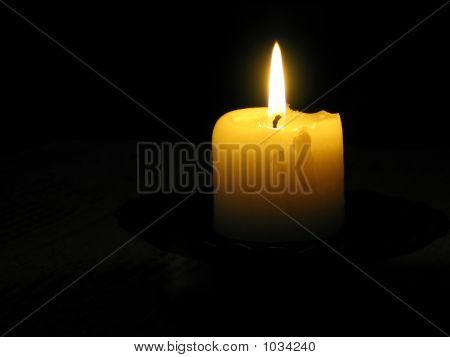 Candle In Dark