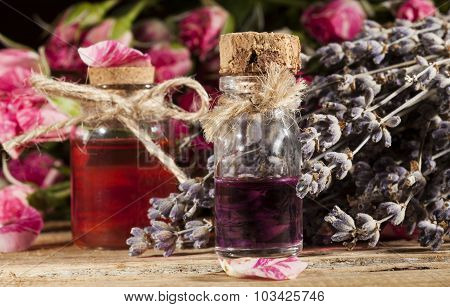 Rose and Lavender Essential Oil
