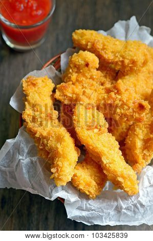 Crispy Chicken Fillets