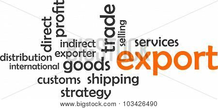 Word Cloud - Export