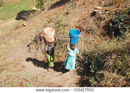 The Precious Water In The Region Of Kilolo, Tanzania Africa 34