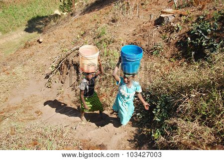 The Precious Water In The Region Of Kilolo, Tanzania Africa 35
