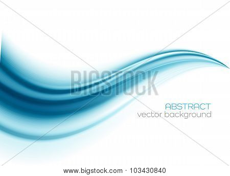 Beautiful Blue Satin. Drapery Background