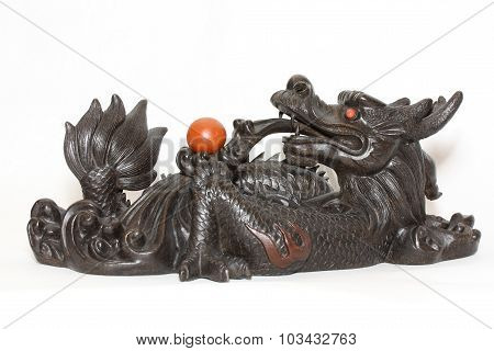 Stone Sculpture Chinese Dragon