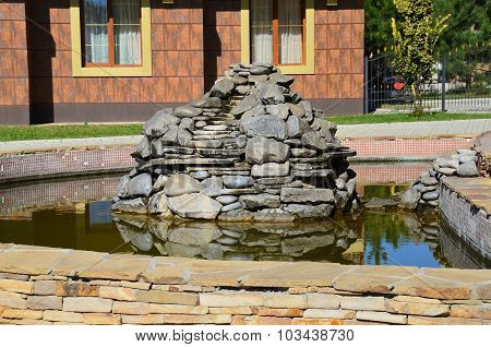 Fountains made of stone