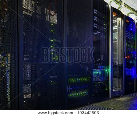 Part Of Mainframes In The Data Center